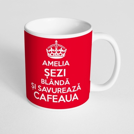 Cană personalizată - KEEP CALM