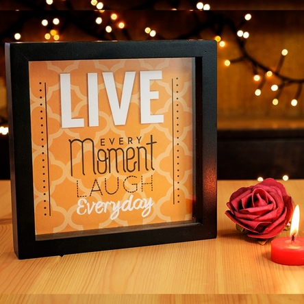 Decorațiune de perete - Live every moment