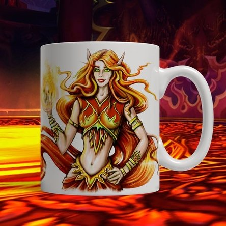 Elves magic mug