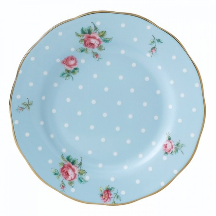Farfurie Polka Blue 16 cm - Royal Albert