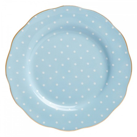 Farfurie Polka Blue 20 cm - Royal Albert
