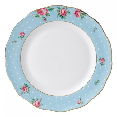 Farfurie Polka Blue 27 cm - Royal Albert