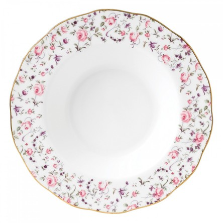 Farfurie supa 24 cm Rose Confetti - Royal Albert