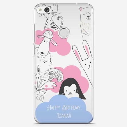 Husă personalizată Huawei P8 Lite - Animal friends