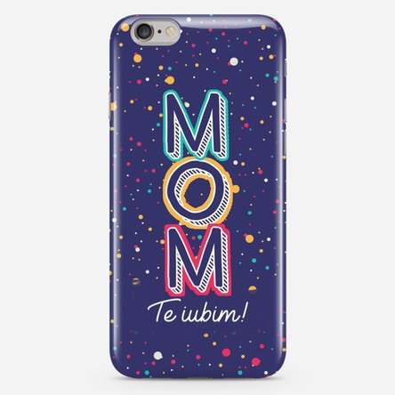 Husă personalizată iPhone 6 Plus / 6s Plus - Mom