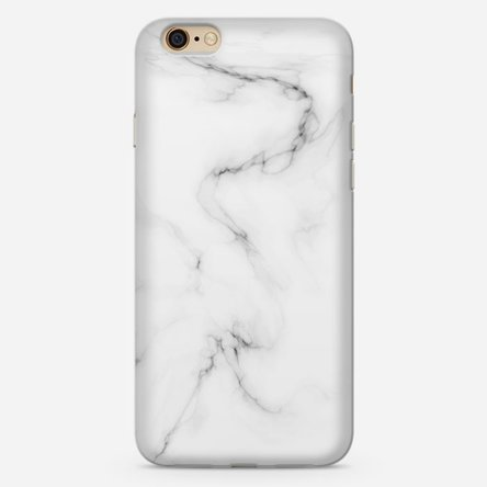 Husă personalizată iPhone 6 Plus / 6s Plus - White marble