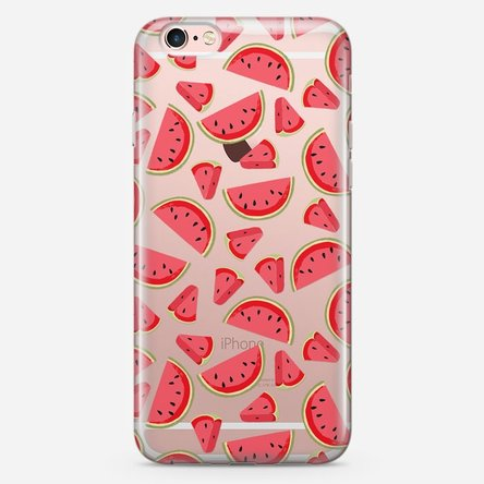 Husă silicon personalizată Iphone 6 / 6s - Watermelon