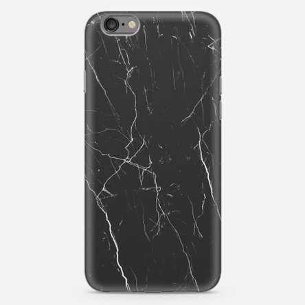 Husă personalizată Iphone 7 - Black marble