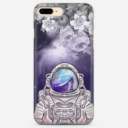 Husă silicon personalizată Iphone 7 Plus - Astronaut