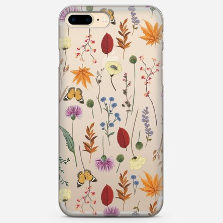 Husă silicon personalizată Iphone 7 Plus - Herbarium