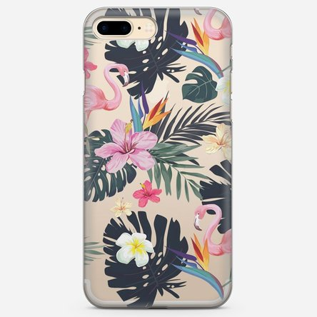 Husă silicon personalizată Iphone 7 Plus - Tropico