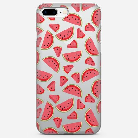Husă silicon personalizată Iphone 8 Plus - Watermelon
