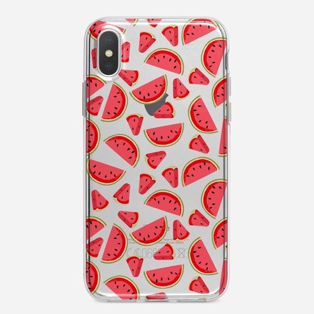 Husă silicon personalizată Iphone X / XS - Watermelon
