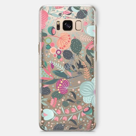 Husă silicon personalizată Samsung S8 Plus- Flower mix