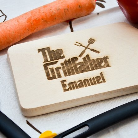 Mini tocător personalizat - The Grillfather