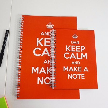 Notebook personalizat - keep calm