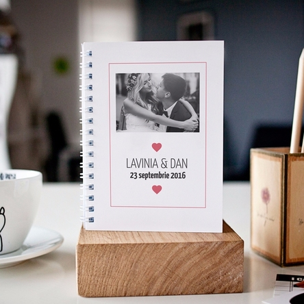 Notebook personalizat - Love Story