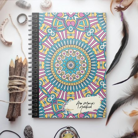 Notebook personalizat - Tribal 3