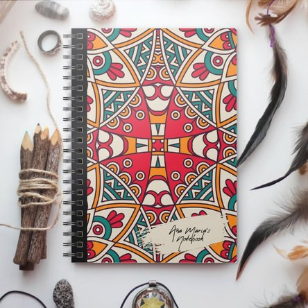 Notebook personalizat - Tribal 2