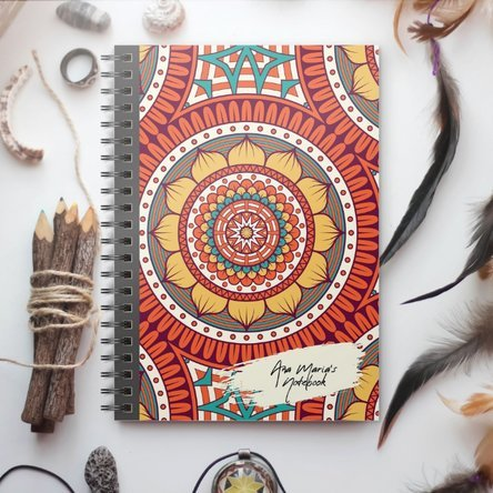 Notebook personalizat - Tribal 4