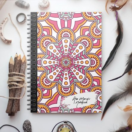Notebook personalizat - Tribal 7