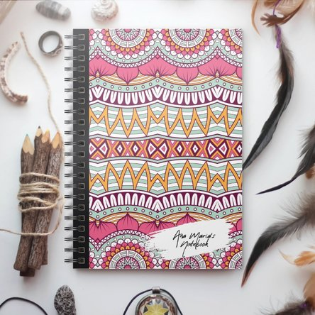 Notebook personalizat - Tribal 8