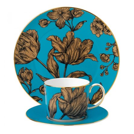Set 3 piese Turquoise Floral Vibrance - Wedgwood