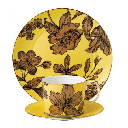 Set 3 piese Yellow Floral Vibrance - Wedgwood