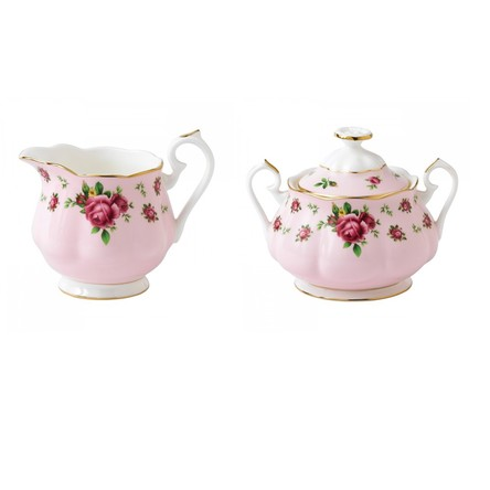 Set Cremiera cu Zaharnita New Country Roses Pink - Royal Albert