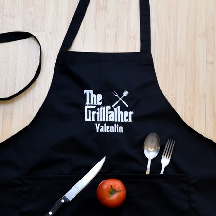 Șorț personalizat - The Grillfather