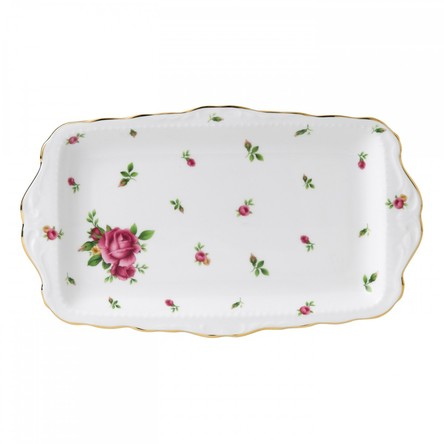 Tavita sandwich New Country Roses White - Royal Albert