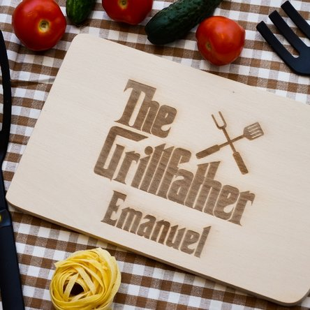 Tocător personalizat - The Grillfather