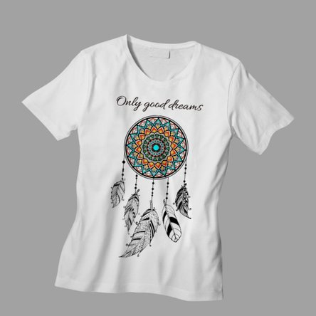 Tricou personalizat cu text - Dream Catcher