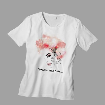 Tricou personalizat cu text - Dreams
