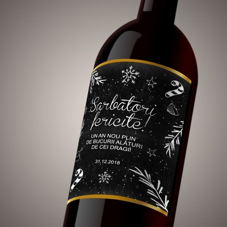 Vin personalizat - Christmas Time