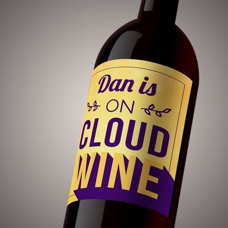 Vin personalizat - On Cloud Wine