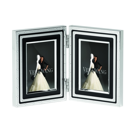 With Love Black  rama foto dubla mica 5 x 7 cm - VERA WANG